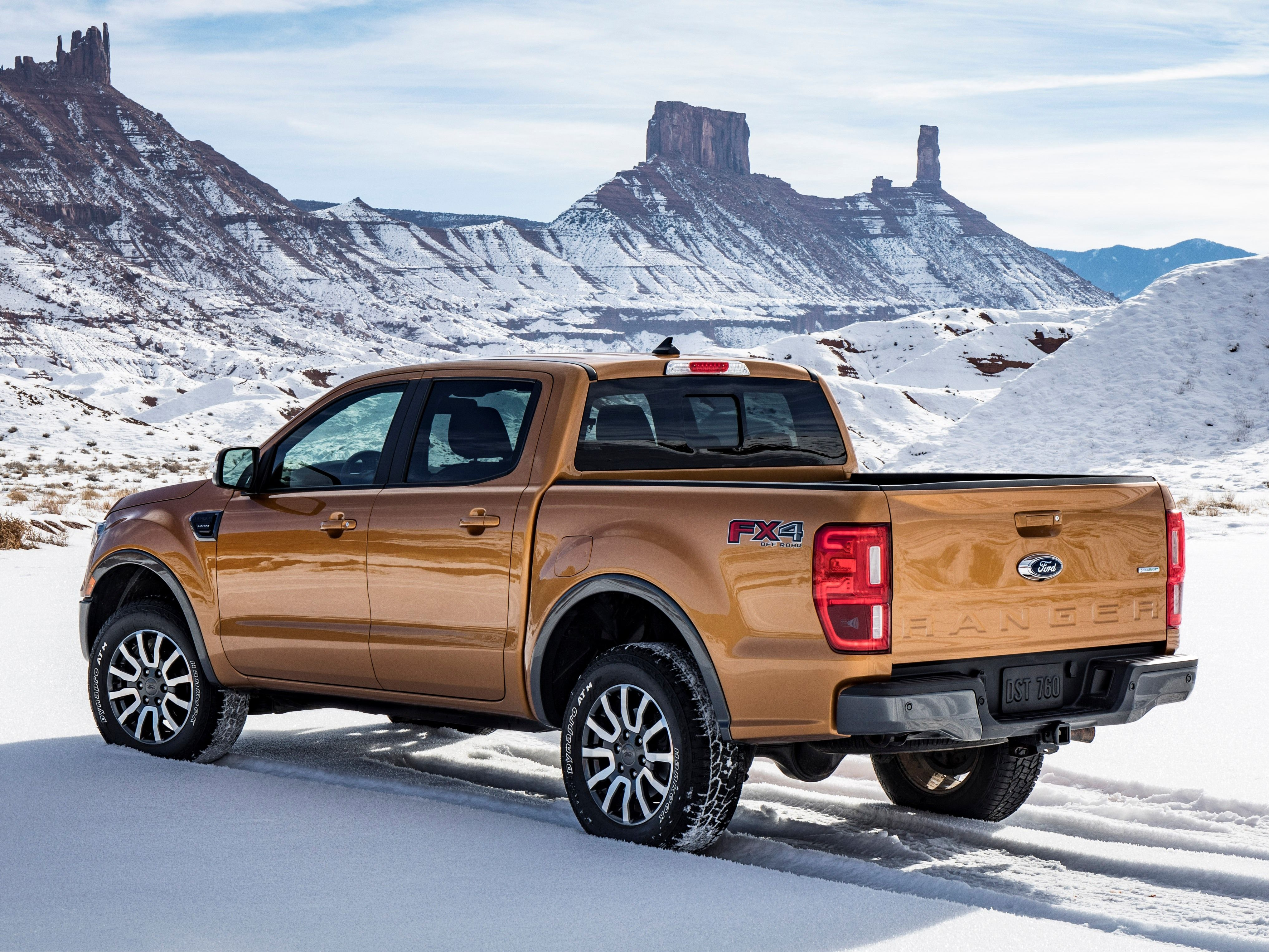 2019 Ford Ranger Earns Class Top Fuel Economy 2019 Ford Ranger