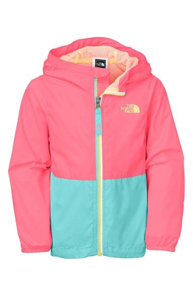 6ff76c952 The North Face  Flurry  Colorblock Hooded Water   Wind Resistant ...