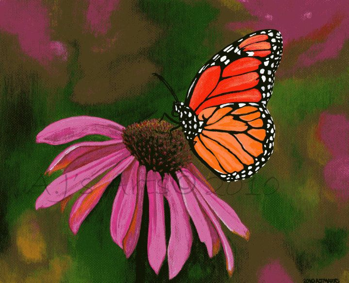 acrylic+paintings+of+butterflies | Acrylic Paintings ...