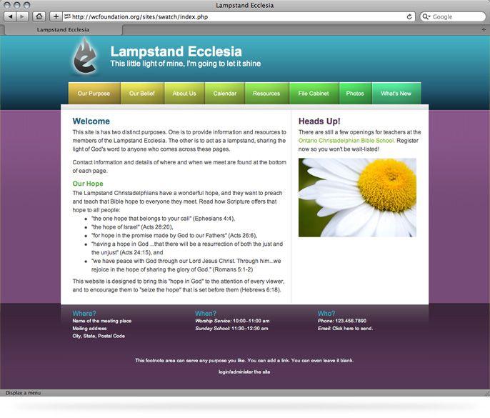 Delightful Simple Website Templates