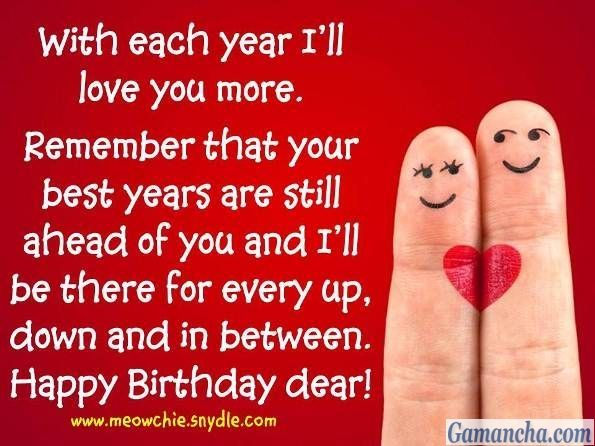 Love Your More Status Birthday Wish For Husband Birthday Wishes