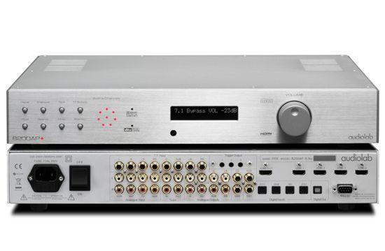 8200ap Audiolab Amplifier Processor Power Amplifiers