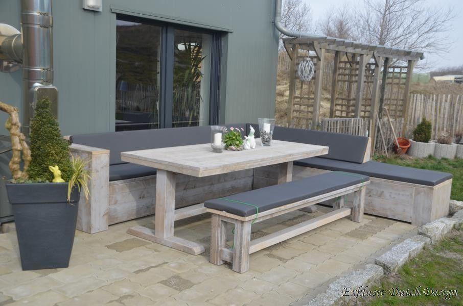Gartentisch Bochum Massiver Bauholz Gartentisch Gartenmobel Online Kaufen Bei Exklusiv Dutch Design Ihrem Fachm Gartentisch Eckbank Garten Gartenmobel Sets