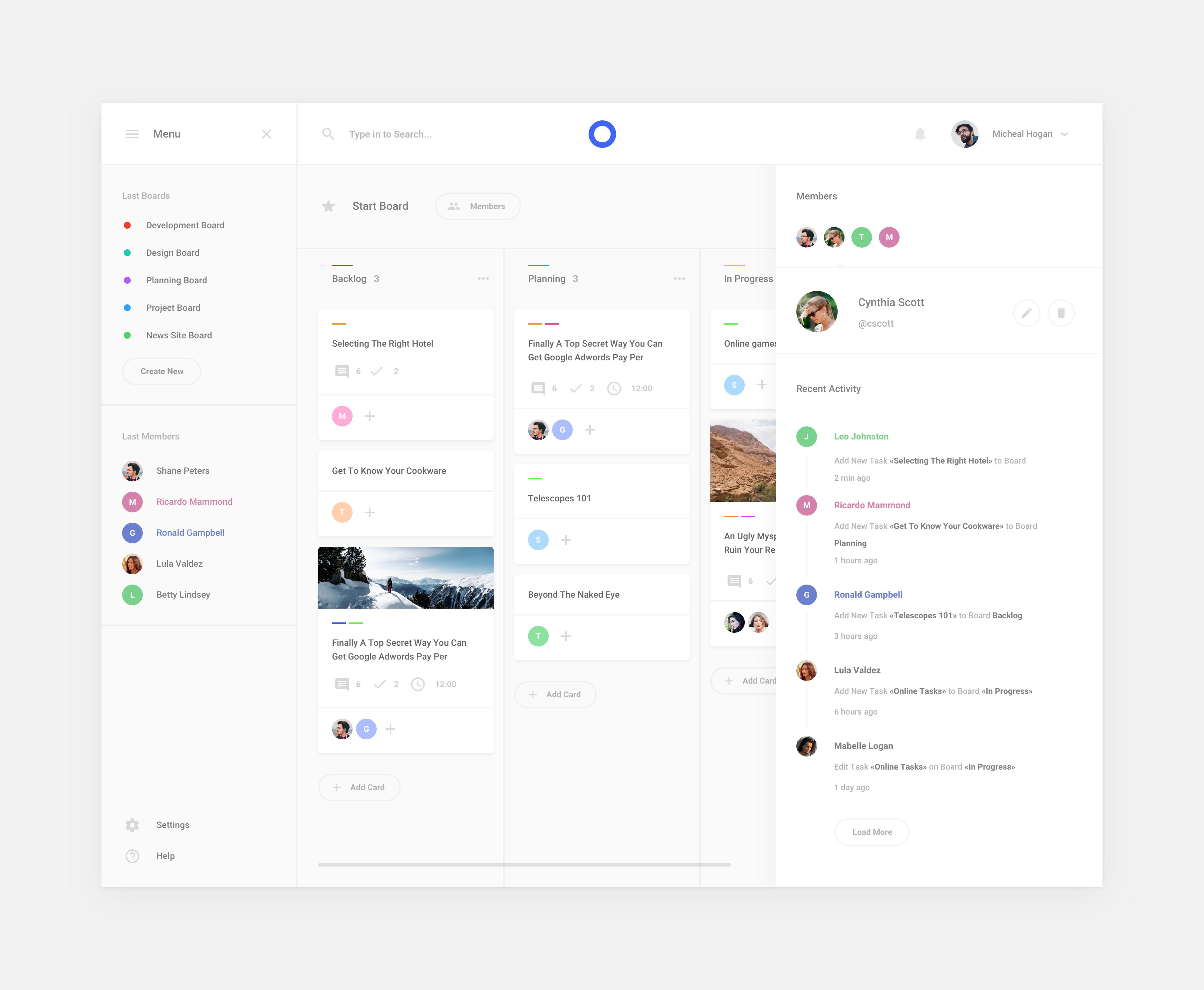 Post 5 Big Simple Web Design App Design Layout Dashboard Design
