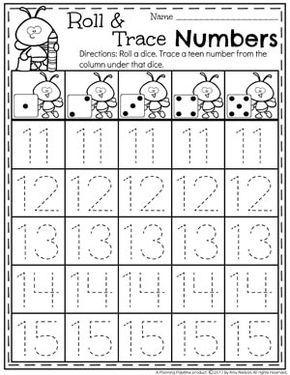 Numbers 11-20 Games | math | Kindergarten math, Teaching teen ...
