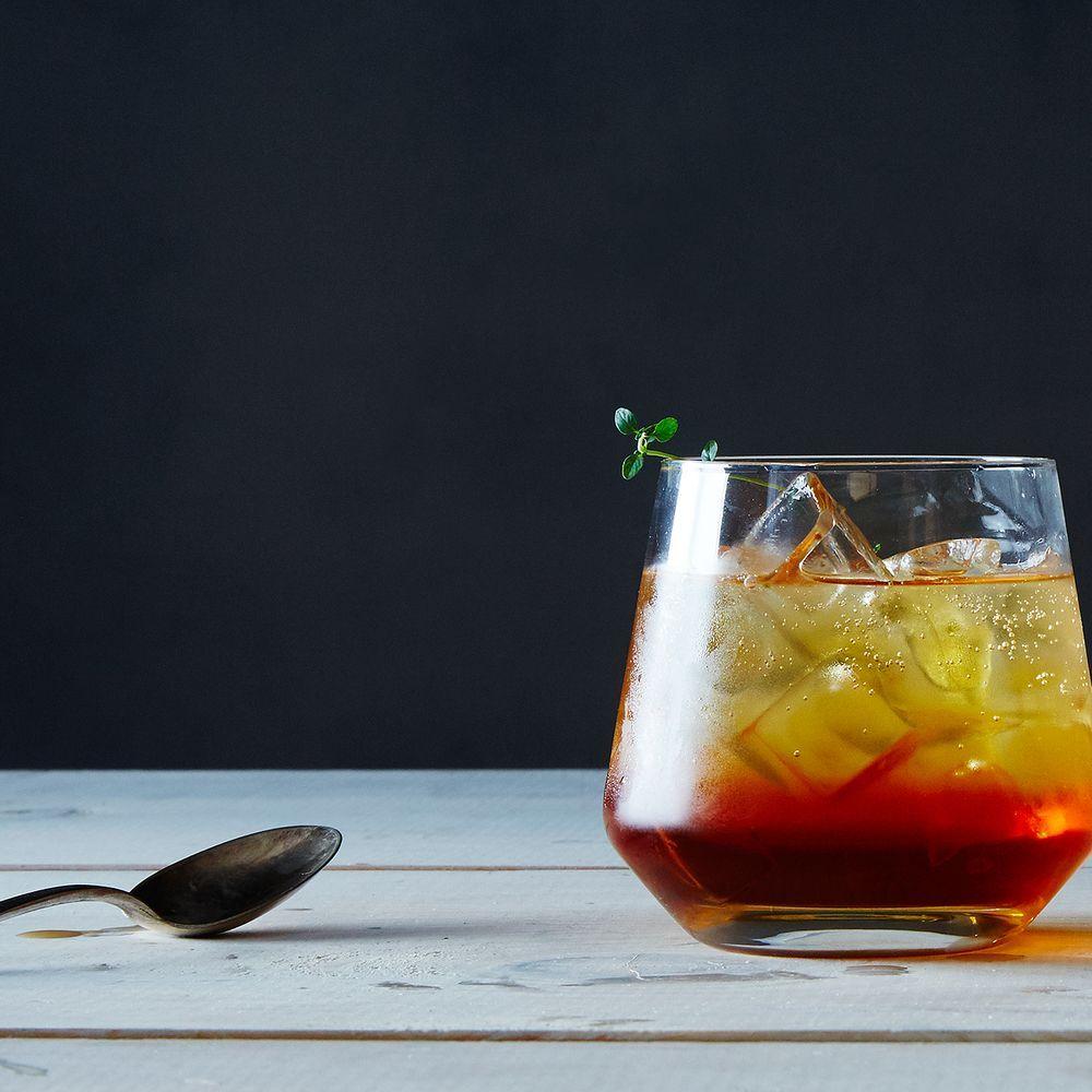 Tea Thyme Soda recipe on Food52