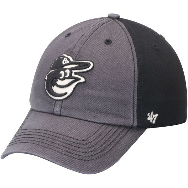 11ce4cab159 Men s Baltimore Orioles  47 Black Humboldt Franchise Fitted Hat ...