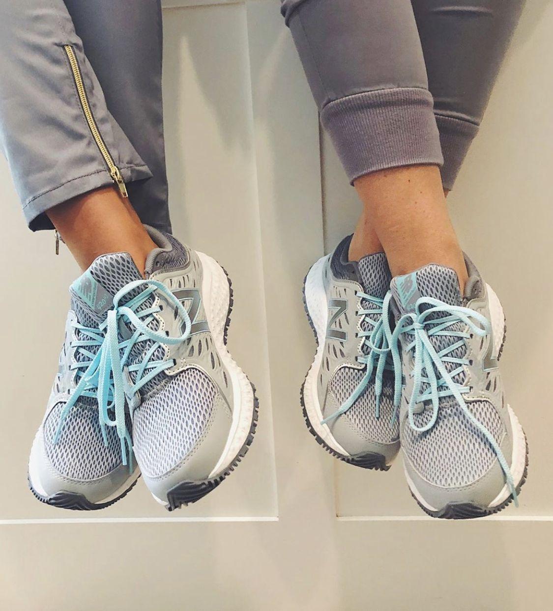 New Balance 420v3 Gray / Blue Women's Slip resistant