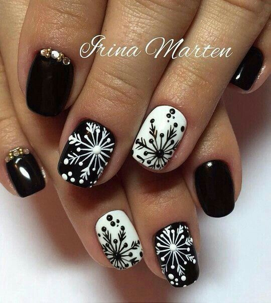 50 Best Nail Art Designs And Perfect For The New Years Eve Nailart