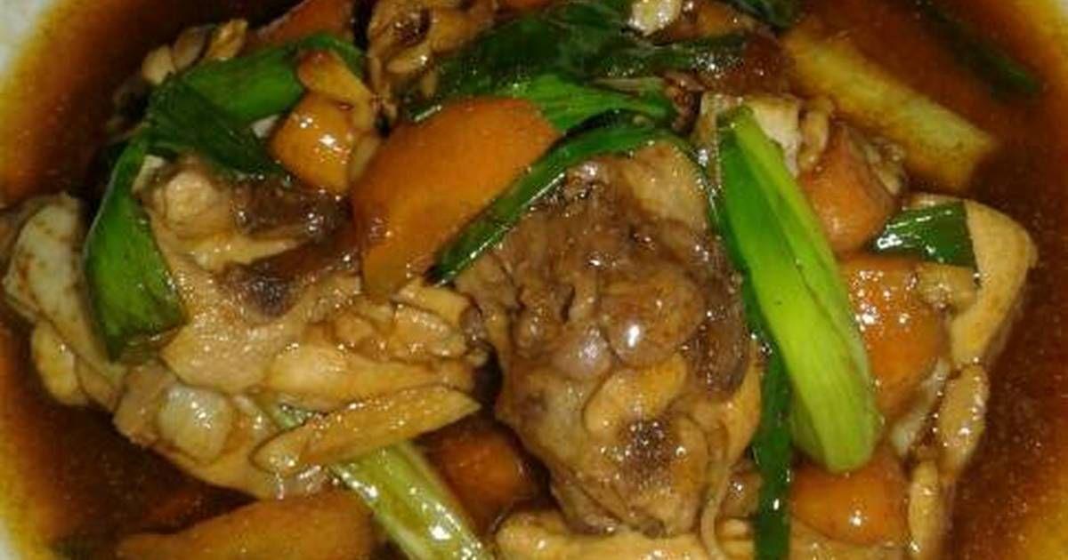 Resep Tumis Ayam Bawang Putih Menu Anak Oleh Desy Lulalisa Resep Resep Resep Makanan Tumis