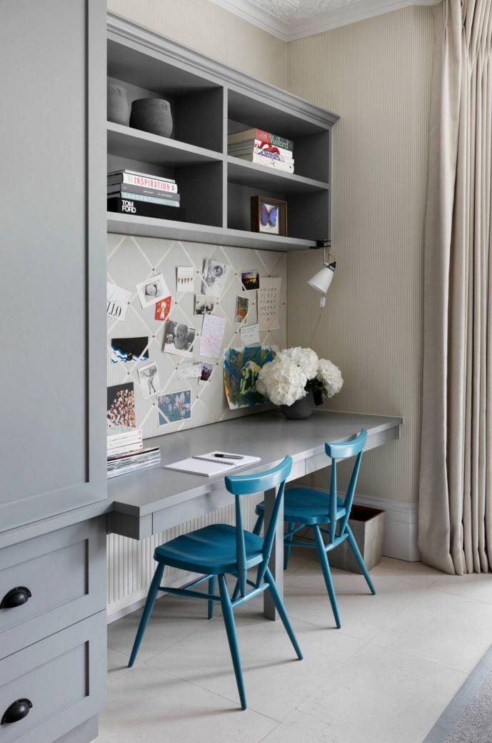 Современный дом для семьи в Лондоне Guest bedroom office, Desk