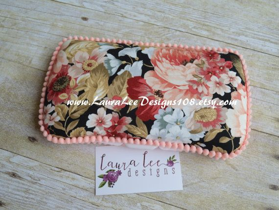 READY TO SHIP Vintage Inspired Peach Floral by LauraLeeDesigns108