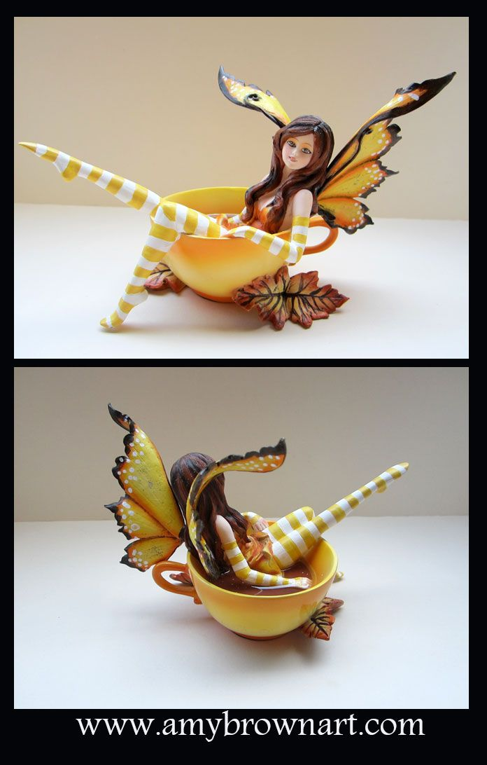 MISC GOODIES - Figurines - Amy Brown Fairy Art - The Official Gallery - Autumn Comfort