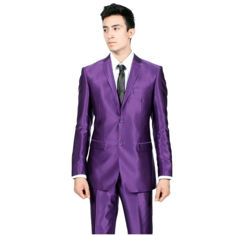 Purple Wedding Tuxedos