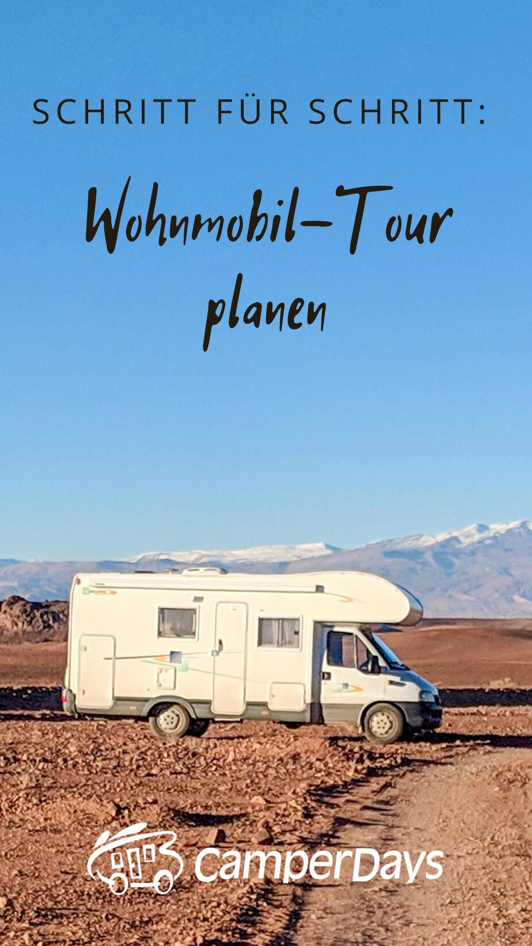 Checkliste für eure erste Wohnmobil-Tour durch Deutschland und Co