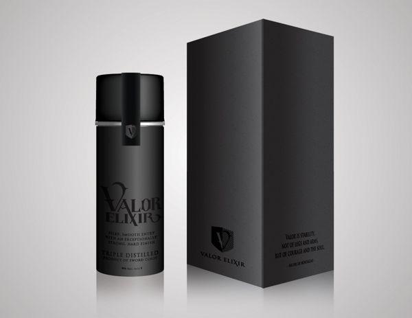 Conceptual Design: Valor Elixir by Mallory Ming, via Behance