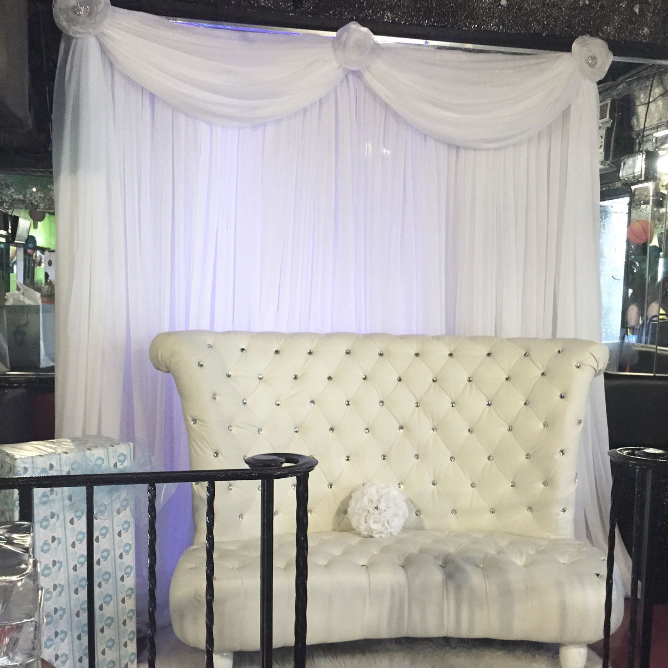 Diamond Chair And Backdrop Available For Rent Throne Chair Home Decor Chair