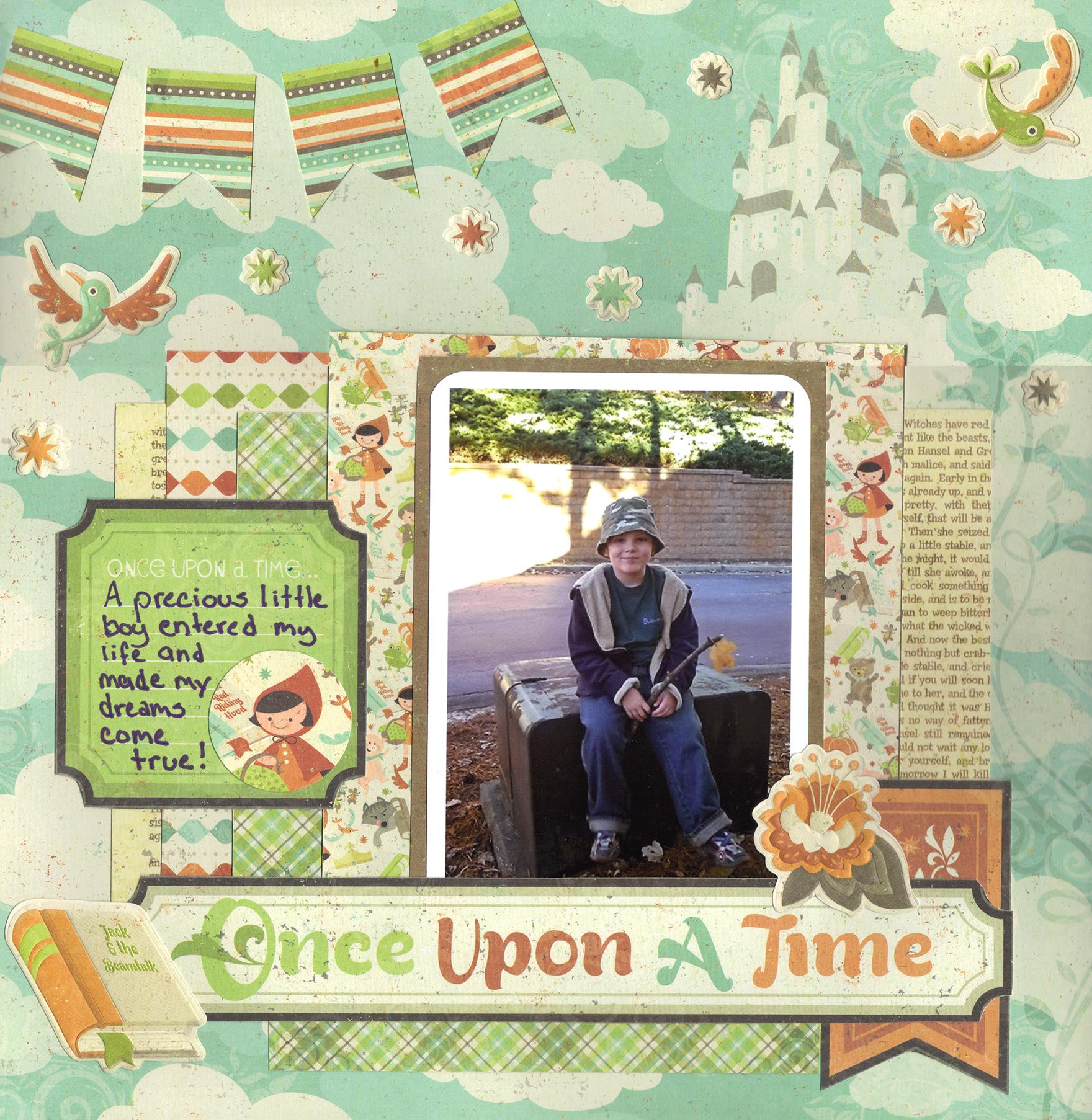 Once Upon A Time - Scrapbook.com