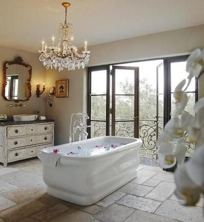 Bathroom Chandeliers Rustic bathroom chandeliers – not just for big fancy bathrooms anymore
