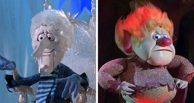 snow miser heat miser from the year without a santa claus my favorite of the stop motion. Black Bedroom Furniture Sets. Home Design Ideas