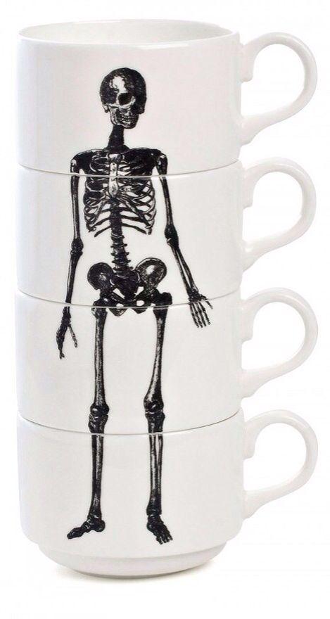 Skeleton mugs!