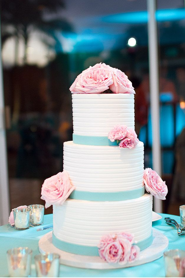blue and pink wedding cake | carseycakes: New, Modern and ... |Pink And Blue Wedding Cakes
