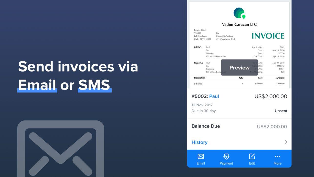Invoice Maker Swift Invoice on the App Store Invoice
