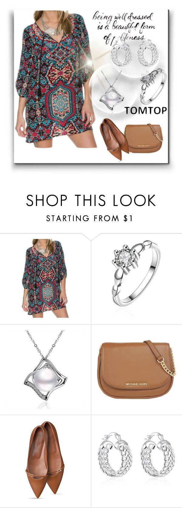 """""""Tomtop #53"""" by aaidaa ❤ liked on Polyvore featuring MICHAEL Michael Kors and vintage"""