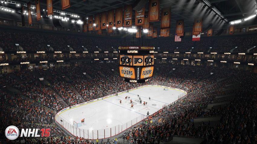 NHL 15 - Wells Fargo Center  Home Ice: Philadelphia Flyers Location: Philadelphia, Pennsylvania Opened: August 13, 1996