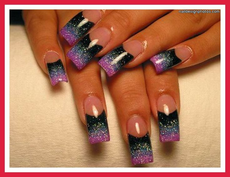 gangster nail designs | Ghetto Nail Designs For Long Nails ...