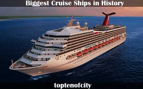 Here Is A List Of The Top Ten Biggest Cruise Ships In History But - Biggest cruise ships list