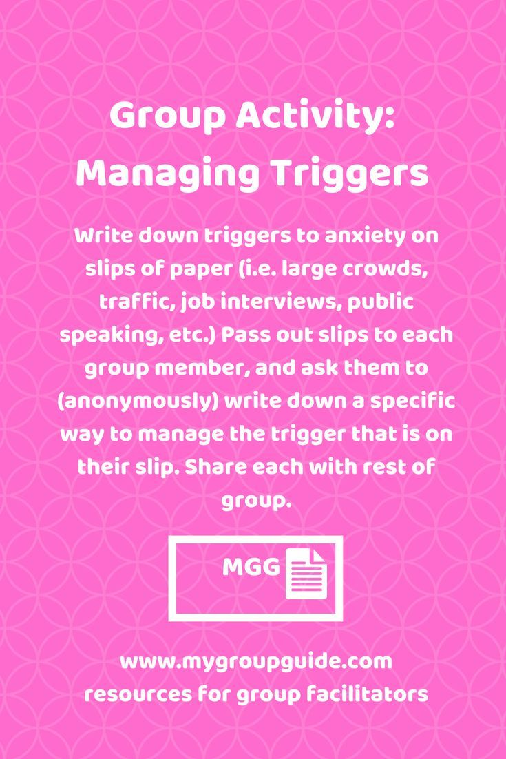 741 best DV 101 Group images on Pinterest  |Group Therapy Activities For Anxiety