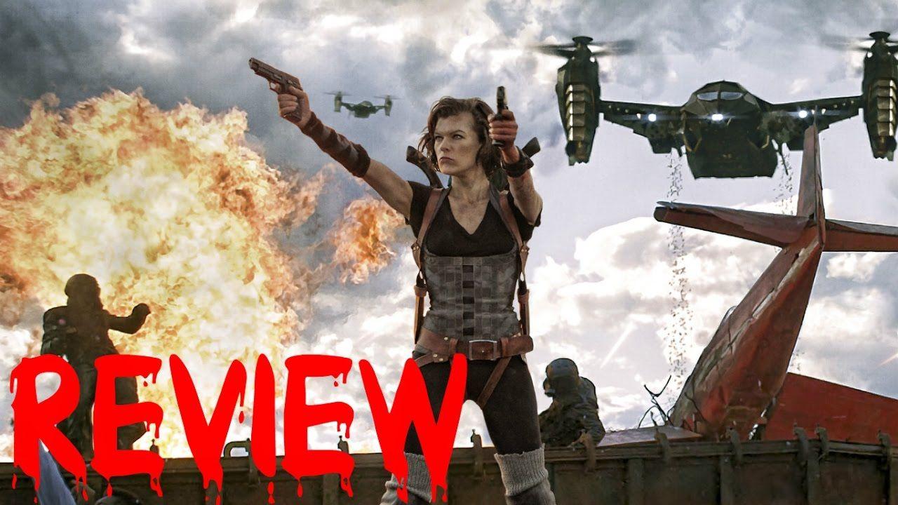 THE MOVIE ADDICT REVIEWS Resident Evil Retribution (2012
