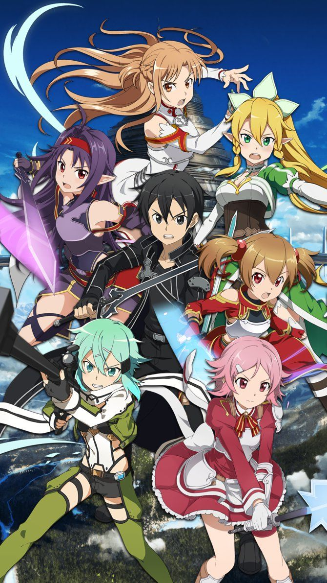 Starter Banner 1 Mobile Wallpaper Sao Md By Kaz Kirigiri