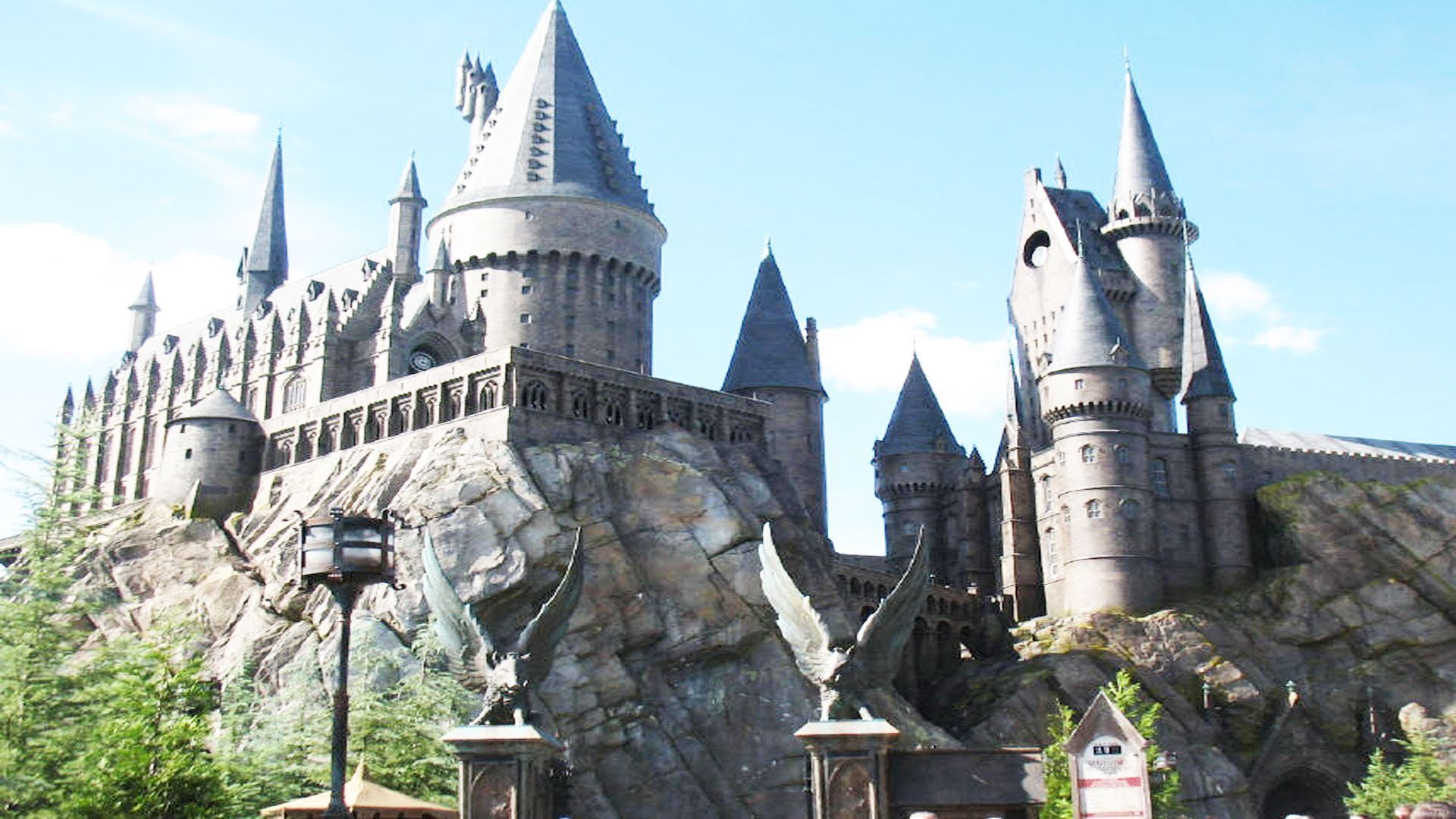Harry Potter And The Forbidden Journey 2010 Draco Hogwarts Castle Harry Potter Forbidden Journey Ride Hd Complete Experience Islands Of Harry Potter Theme Park Hogwarts Castle Wizarding World Of Harry Potter
