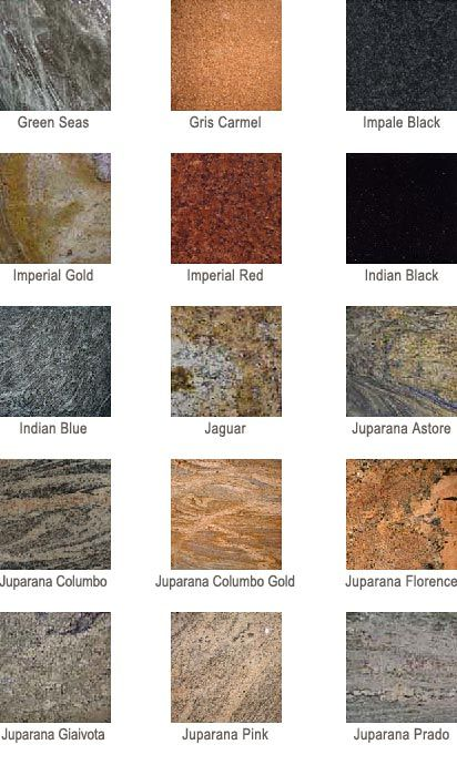 Awesome Granite Colors