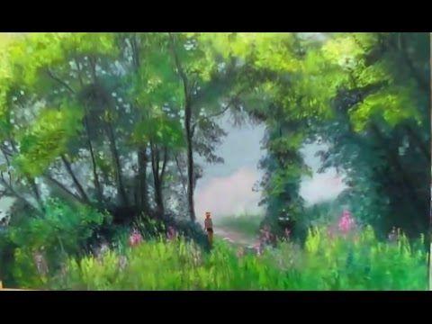 Comment Peindre Rapide Et Facile Peinture Paysage À L'Huile Au