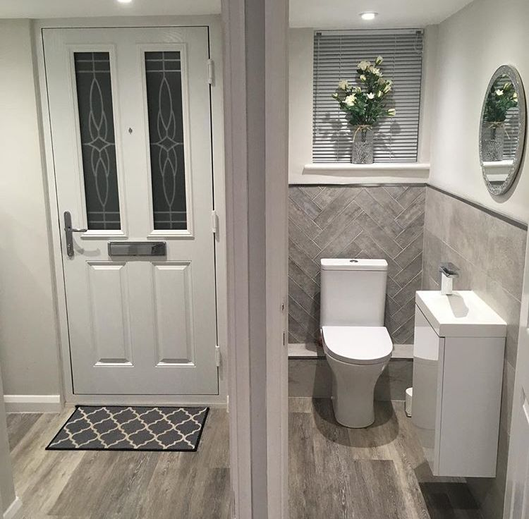 Pin By Tonya On Home Decor Small Toilet Room Small Downstairs