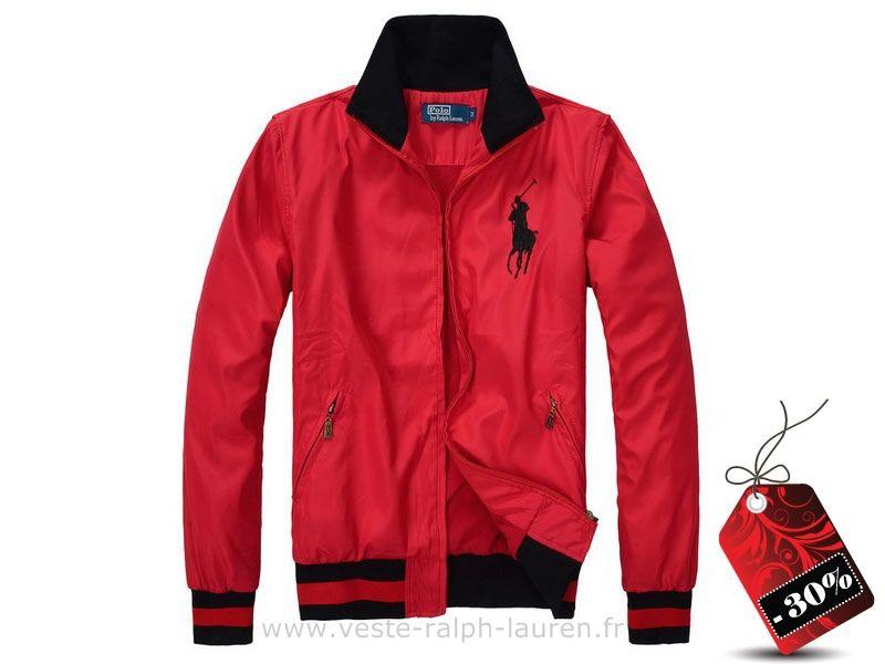 veste Ralph Lauren hommes de polo 2,013 tendance Big Pony usa rouge Polo  Armani