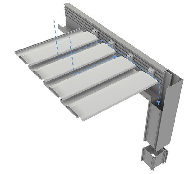 Pergola bioclimatica durmi pergolas de aluminio - Pergolas de aluminio ...