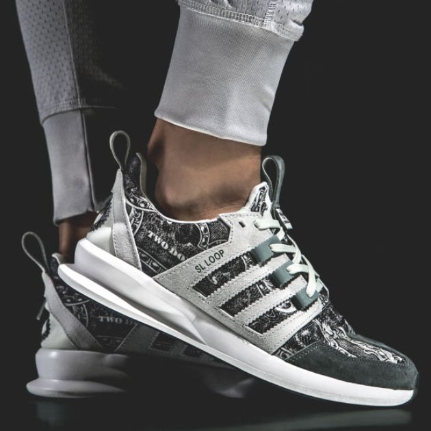 newest 33c4e 7341b Wish X adidas Sl Loop Runner (Independent Currency) - Sneaker Freaker