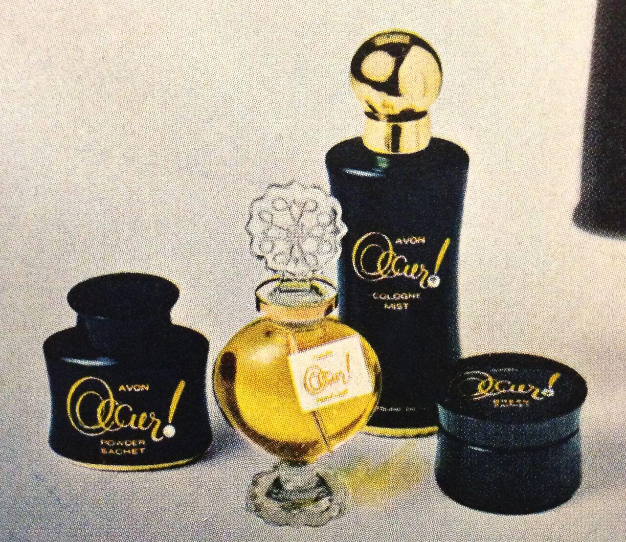 Avon Occur Fragrance Line 1963 Avon Avon Perfume Avon