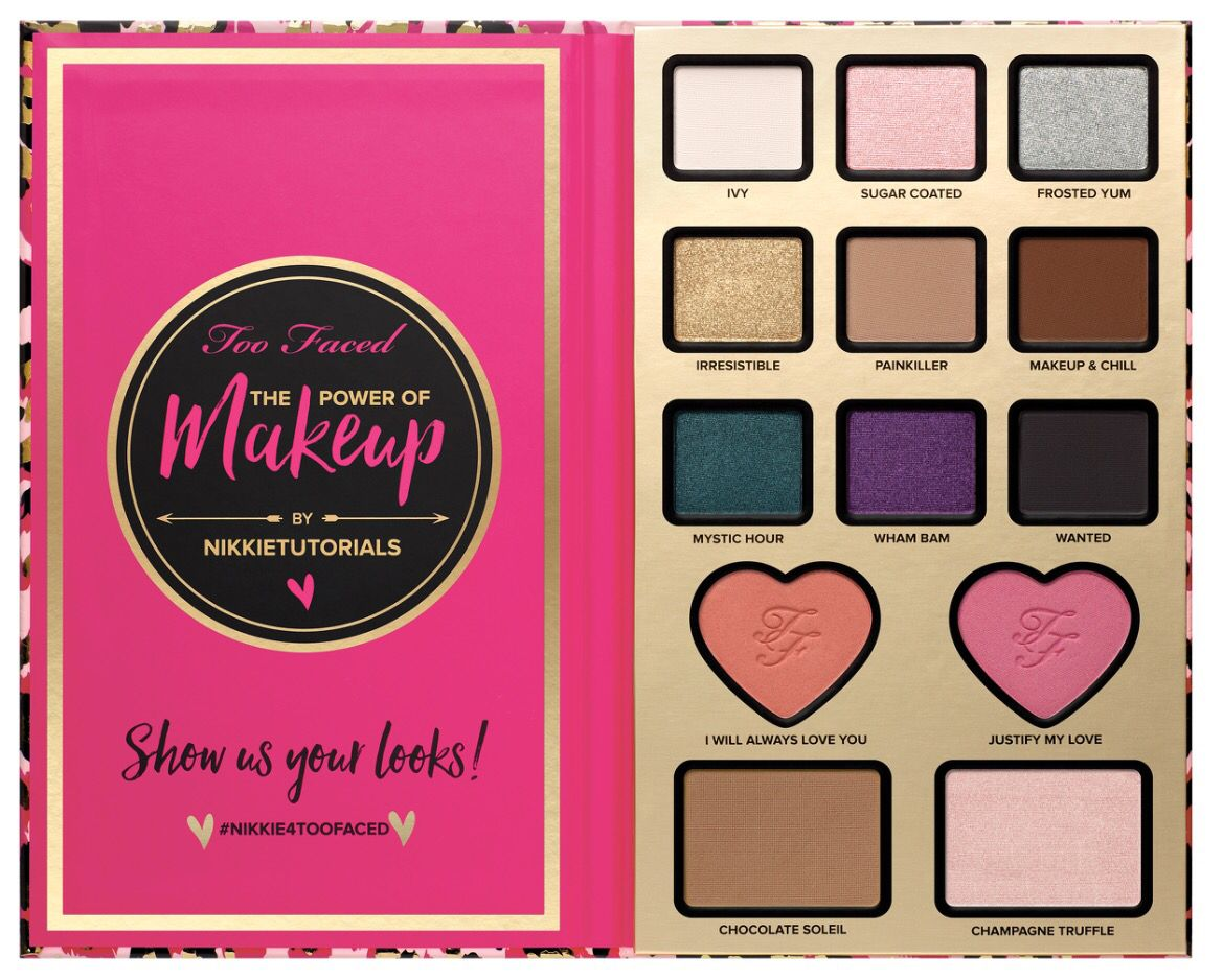 too faced nikkie tutorials collection the power of makeup