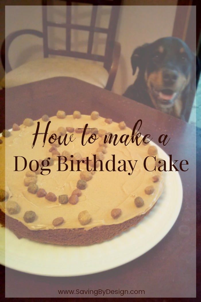 Make Your Furry Friend An Easy Dog Birthday Cake To Celebrate This Recipe Is Healthy For Dogs As The Main Ingredients Are Carrots And Peanut