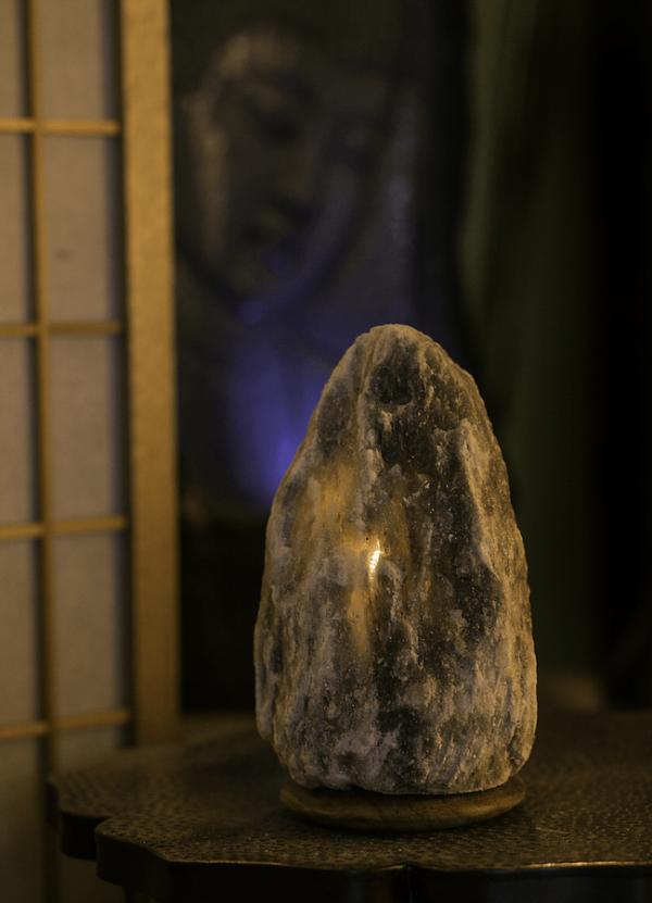 Grey Himalayan Salt Crystal Lamp Salt Crystal Lamps Himalayan Salt Lamp Crystal Lamp