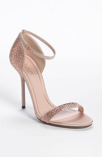 9a5e61b3aa6 Gucci Noah Crystal Sandal