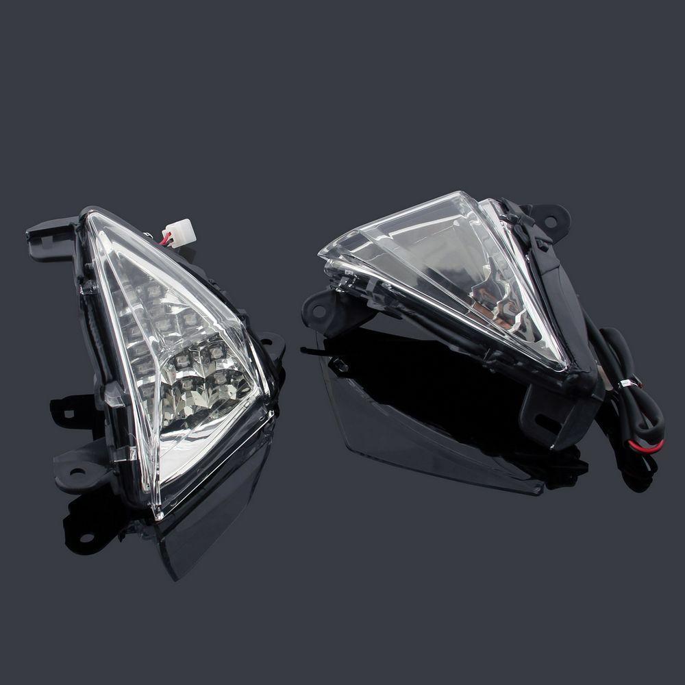 Front Indicators Led Turn Signals Kawasaki Zx14r 06 11 Zx10r 06 07 Zx6r 636 05 10 Ninja 650f 06 08 Concours Gtr1400 08 10 Kawasaki Zx6r Zx6r Kawasaki