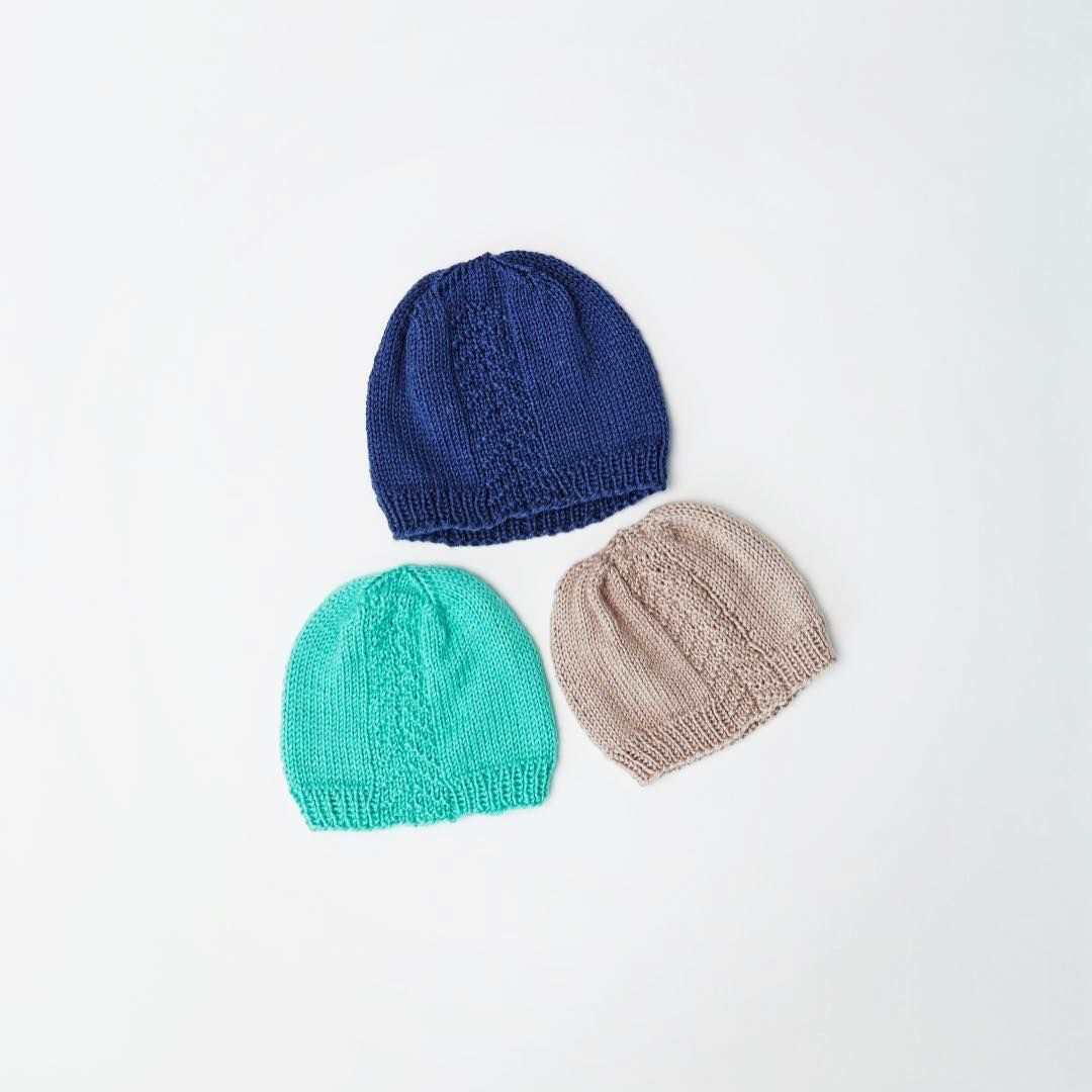 Basic knit hats to go with everything and anything! Follow the link ...