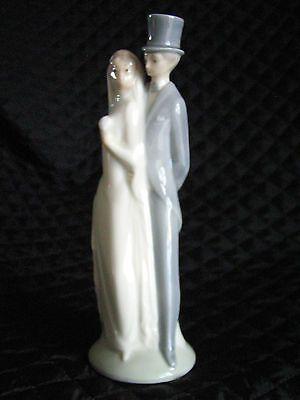 WEDDING LLADRO BRIDE GROOM CAKE TOPPER FIGURINE NAO DAISA PORCELAIN Spain