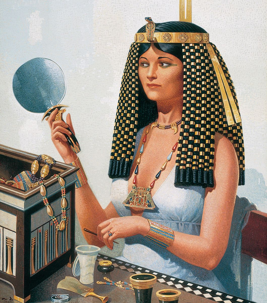 From Head To Toe Egyptians Liked To Look Good And They